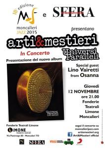 locandina Arti & Mestieri
