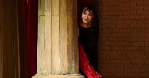 26/06/2017 60 Festival dei 2 Mondi di Spoleto. Teatro Caio Melisso, spettacolo Memorie di Adriana. Nella foto Adriana Asti